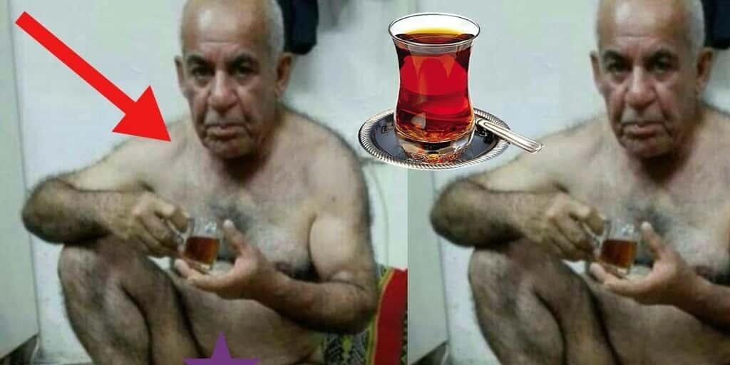 Çay İçen Amca Çay İçen Dayı